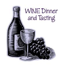 Wine Dinner and Tasting