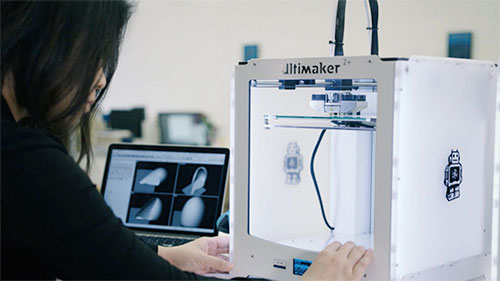 Ultimaker 3-D Printer